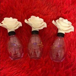 3 Kate Spade bottles